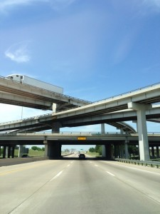 Going up I-35 to Dallas
